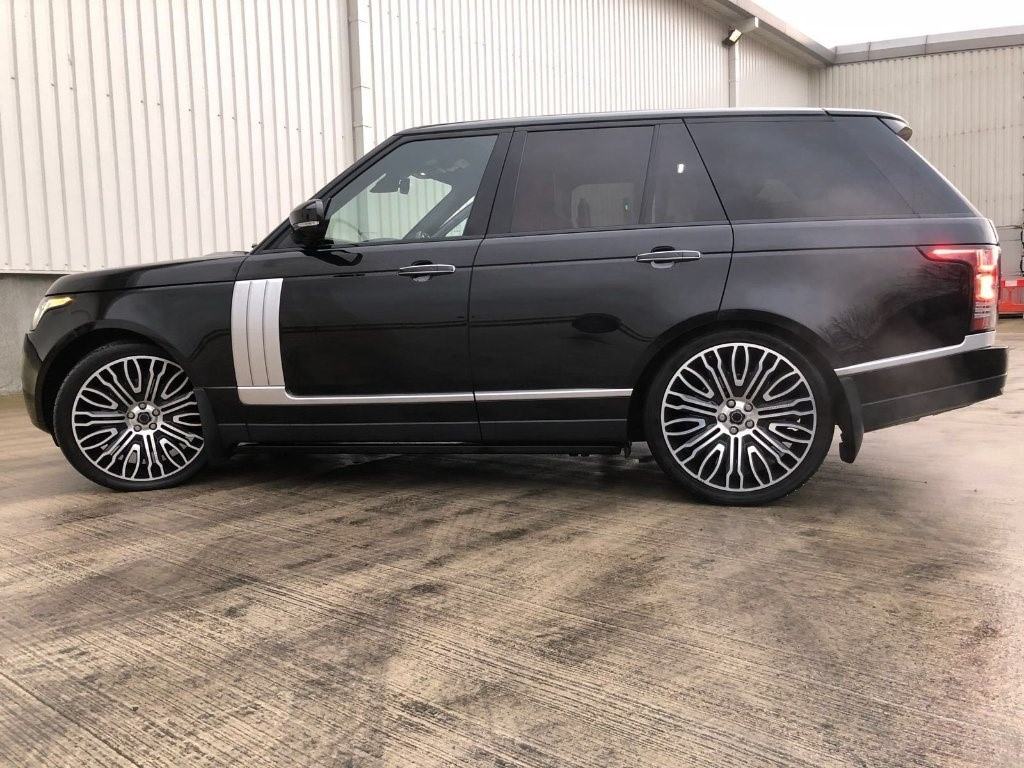Used Black Land Rover Range Rover For Sale | West Yorkshire