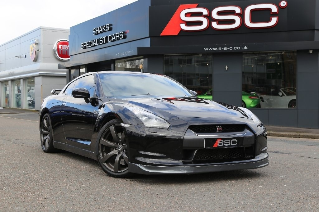 Used Black Nissan Gt R For Sale West Yorkshire