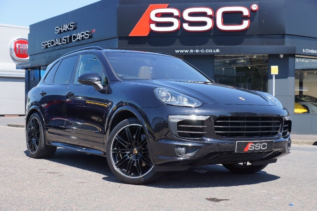 Used Black Porsche Cayenne For Sale | West Yorkshire