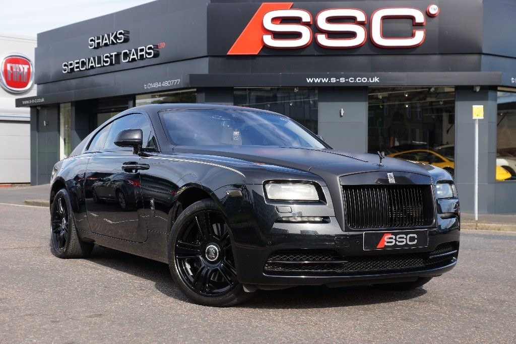 used black rolls-royce wraith for sale | west yorkshire