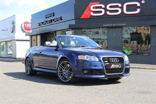 Audi RS4 Cabriolet for sale