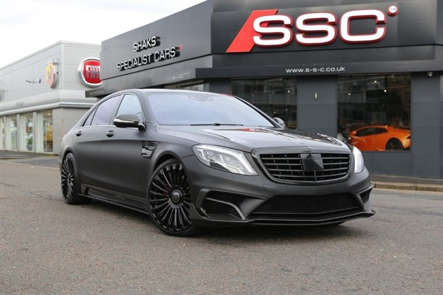 Used Black Mercedes S63 Amg For Sale West Yorkshire