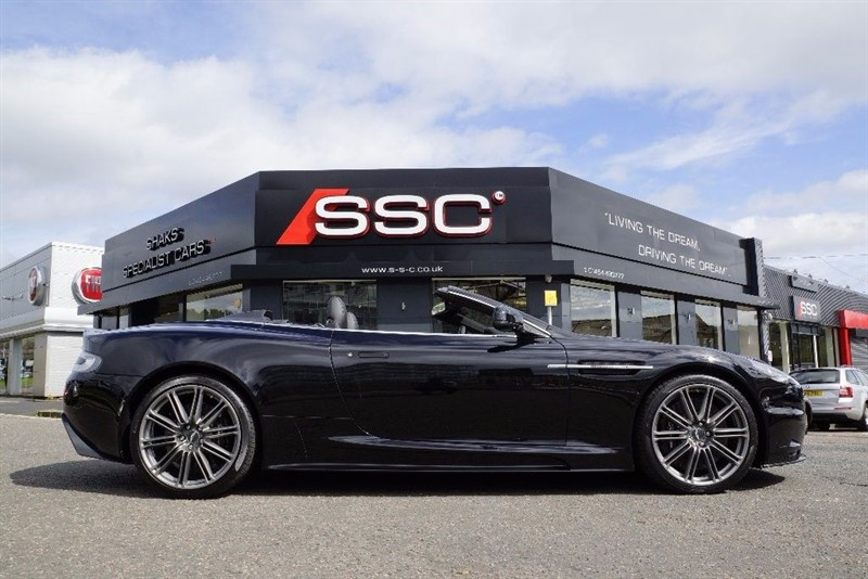 used Aston Martin DBS 6.0 Volante Touchtronic 2dr in yorkshire