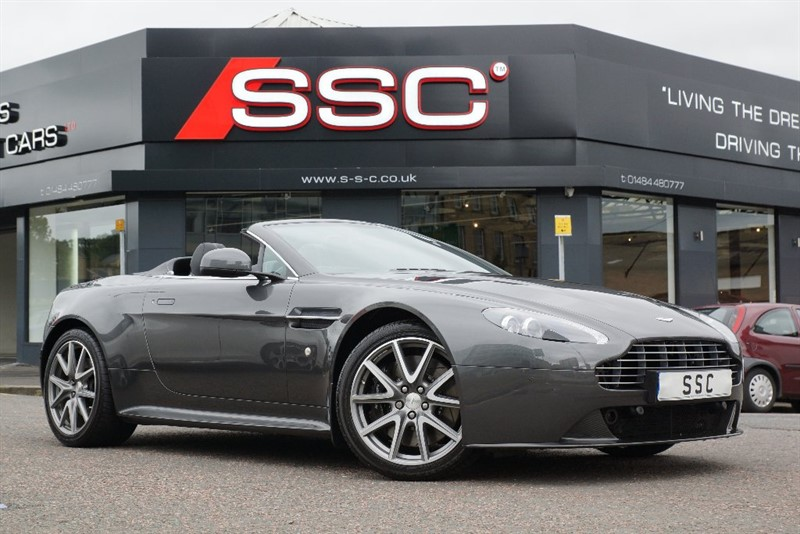 used Aston Martin Vantage 4.7 V8 S Roadster 2dr in yorkshire