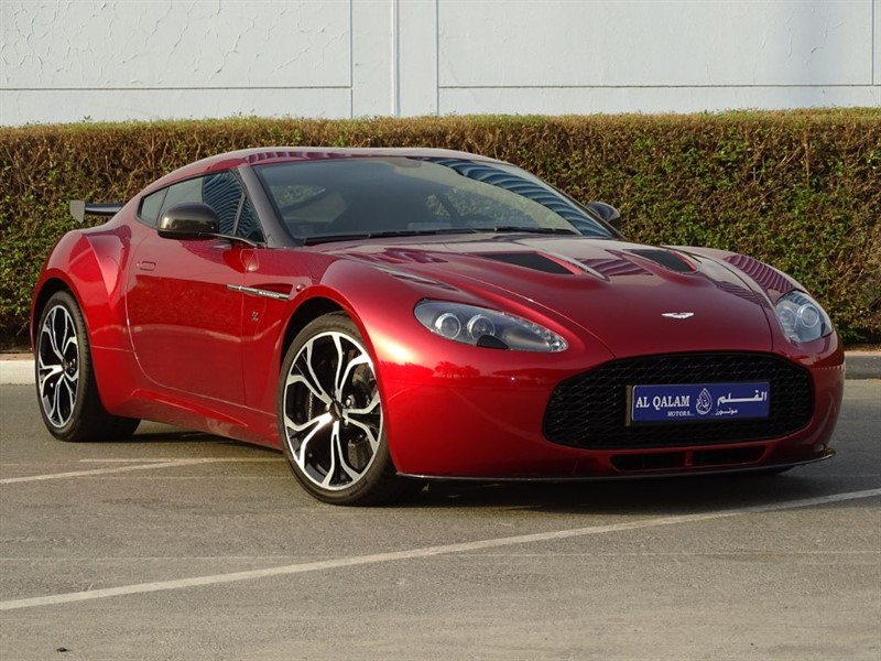 used Aston Martin Vantage V12 ZAGATO (1 of 150) in huddersfield-west-yorkshire