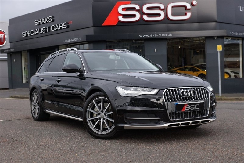 used Audi A6 allroad BiTDi allroad Tiptronic quattro 5dr (start/stop) in yorkshire