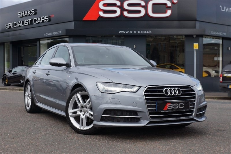 used Audi A6 Saloon TDI ultra S Line Tronic 4dr (start/stop) in yorkshire