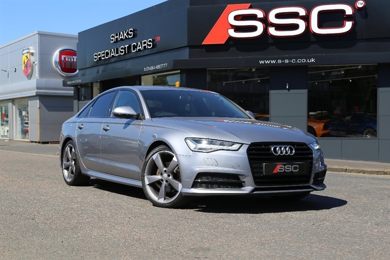used Audi A6 Saloon TDI ultra Black Edition S Tronic (s/s) 4dr in yorkshire