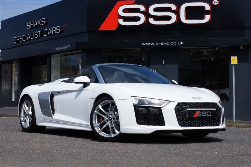 used Audi R8 FSI Spyder S Tronic Quattro 2dr in yorkshire