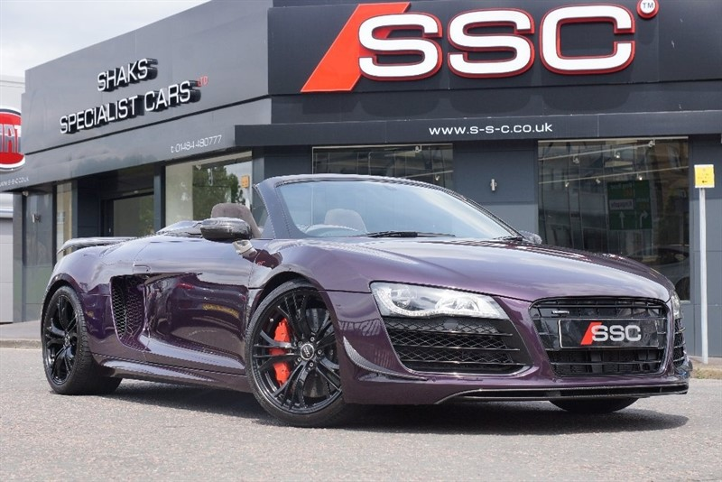 Car of the week - Audi R8 FSI V10 GT Spyder R Tronic Quattro 2dr - Only £94,995