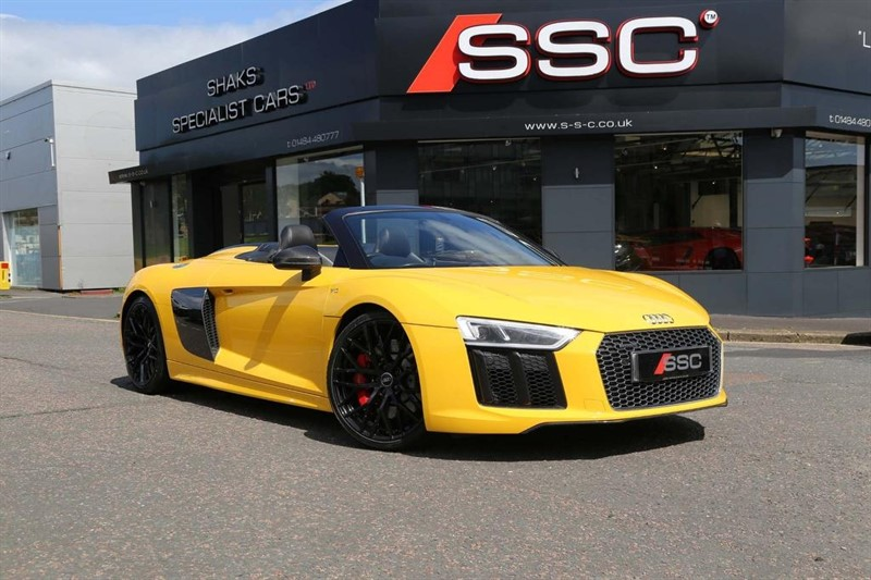 used Audi R8 FSI V10 Spyder S Tronic quattro (s/s) 2dr in huddersfield-west-yorkshire