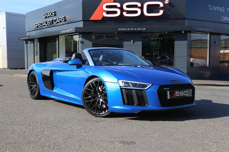 used Audi R8 FSI V10 Spyder S Tronic quattro (s/s) in huddersfield-west-yorkshire