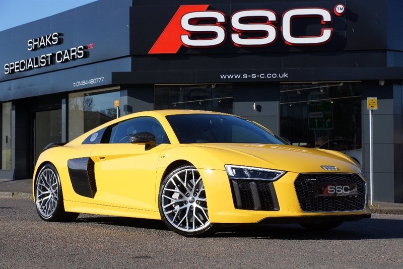 used Audi R8 FSI V10 Plus S Tronic Quattro 2dr (CoD) in yorkshire