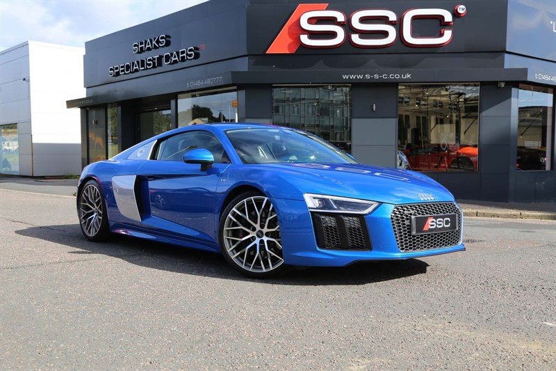 used Audi R8 FSI V10 S Tronic quattro (s/s) 2dr in huddersfield-west-yorkshire