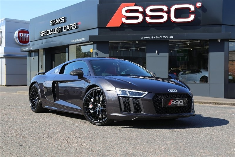 used Audi R8 FSI V10 Plus Coupe S Tronic Quattro 2dr (CoD) in yorkshire