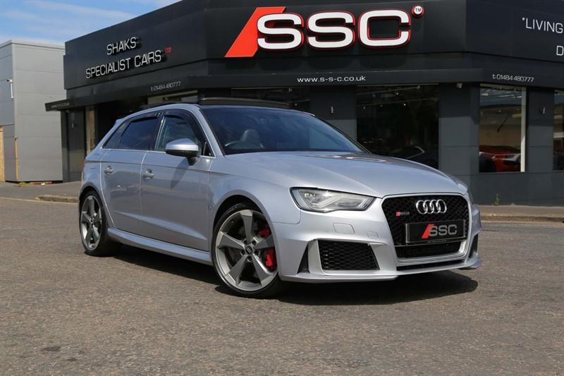 used Audi RS3 TFSI Sportback S Tronic quattro (Nav) in huddersfield-west-yorkshire