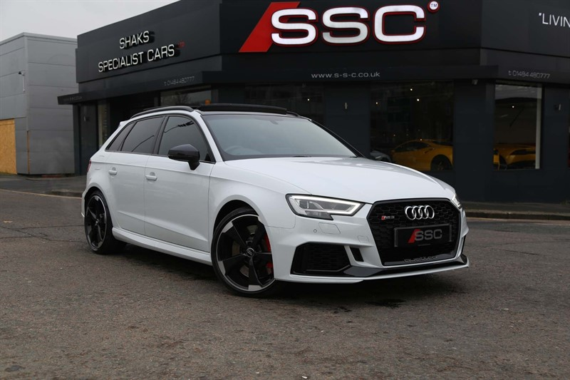 used Audi RS3 TFSI Sportback S Tronic quattro (s/s) 5dr in huddersfield-west-yorkshire