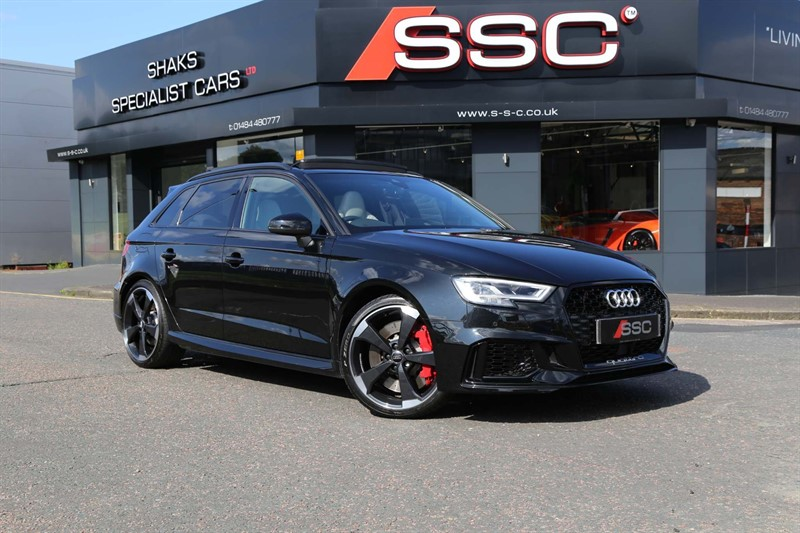 used Audi RS3 TFSI Sportback S Tronic quattro in huddersfield-west-yorkshire