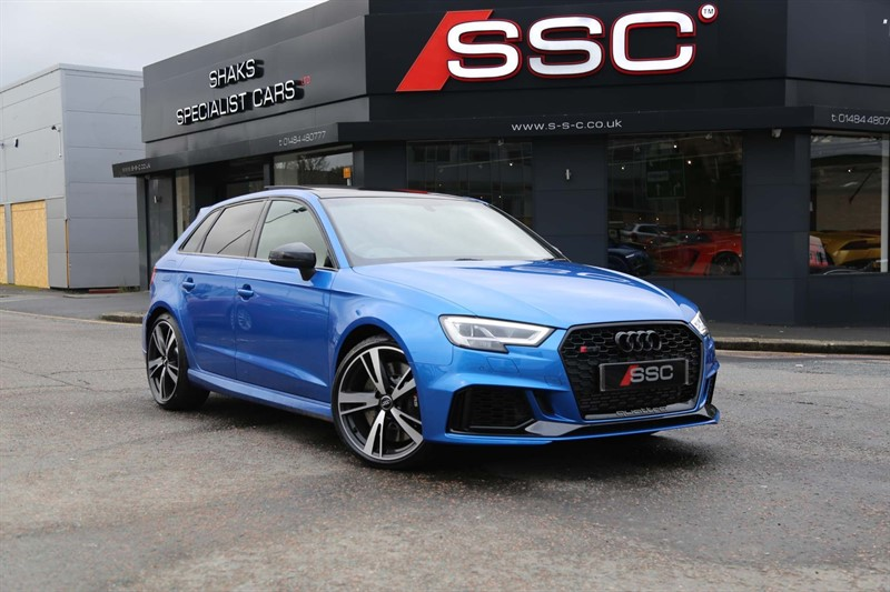 used Audi RS3 TFSI Audi Sport Edition Sportback S Tronic quattro (s/s) 5dr in huddersfield-west-yorkshire