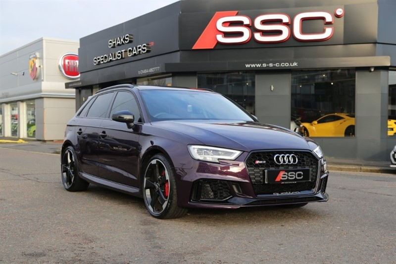 used Audi RS3 TFSI Sportback S Tronic Quattro 5dr in huddersfield-west-yorkshire