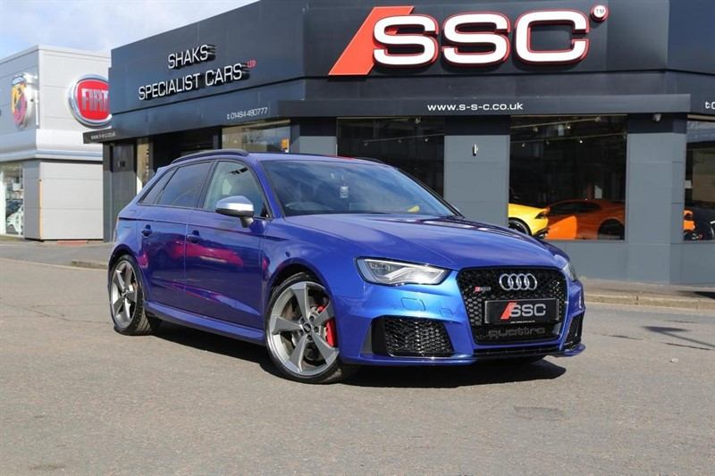 used Audi RS3 TFSI Sportback S Tronic quattro 5dr (Nav) in huddersfield-west-yorkshire