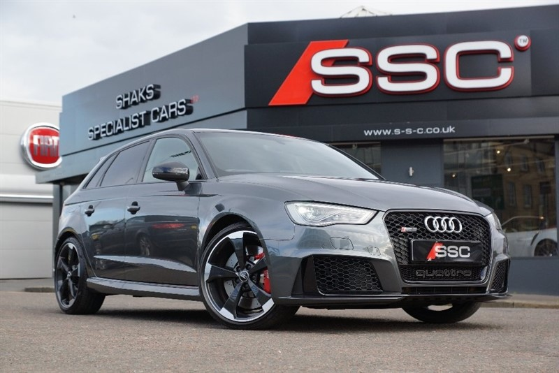 used Audi RS3 TFSI Sportback S Tronic Quattro 5dr (Nav) in yorkshire