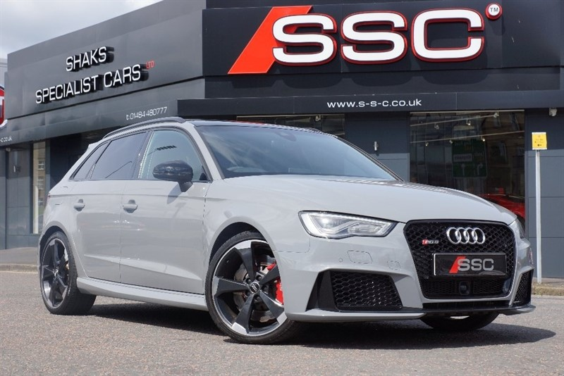 used Audi RS3 TFSI Sportback S Tronic Quattro 5dr in yorkshire