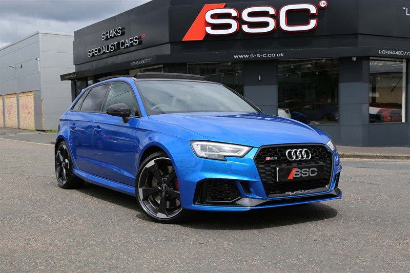 used Audi RS3 TFSI Sportback S Tronic quattro (s/s) in huddersfield-west-yorkshire