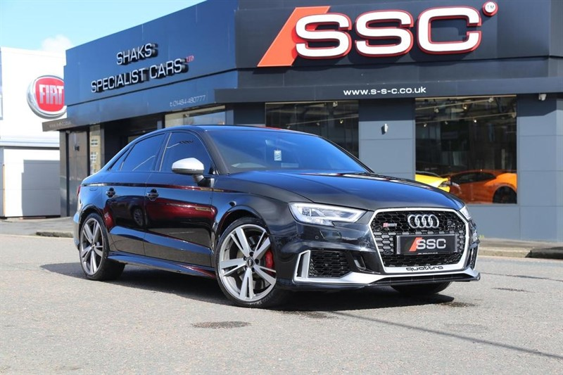 used Audi RS3 TFSI S Tronic quattro 4dr in huddersfield-west-yorkshire