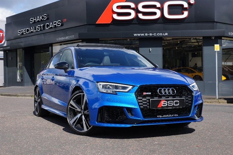 used Audi RS3 2.5 TFSI Saloon S Tronic quattro 5dr in yorkshire
