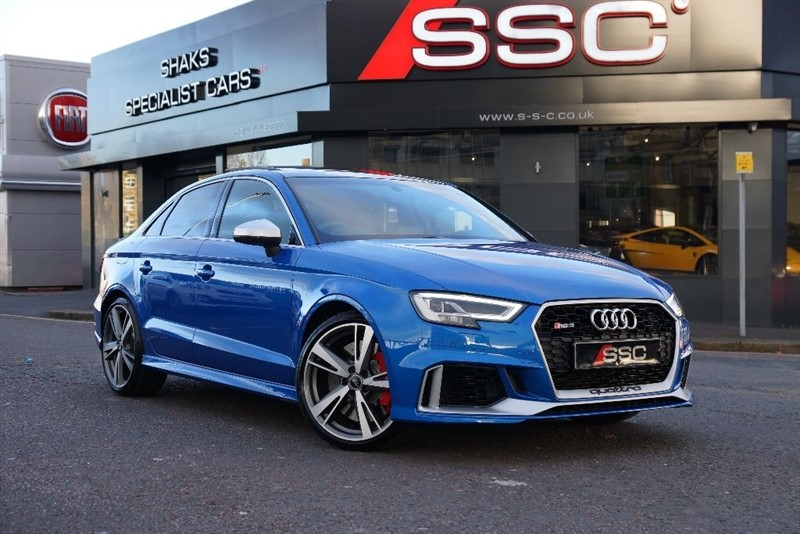 used Audi RS3 TFSI Saloon S Tronic Quattro 4dr in yorkshire