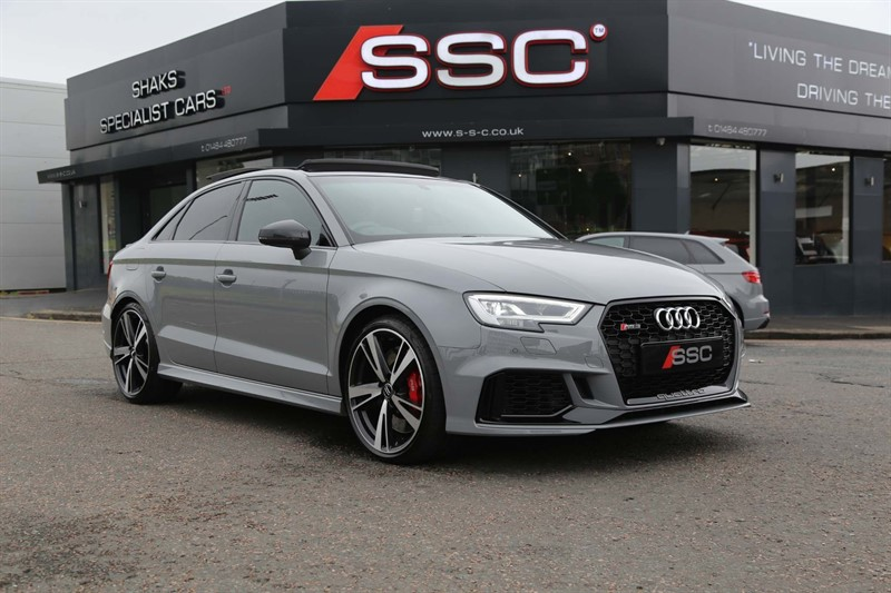 used Audi RS3 TFSI S Tronic quattro (s/s) in huddersfield-west-yorkshire