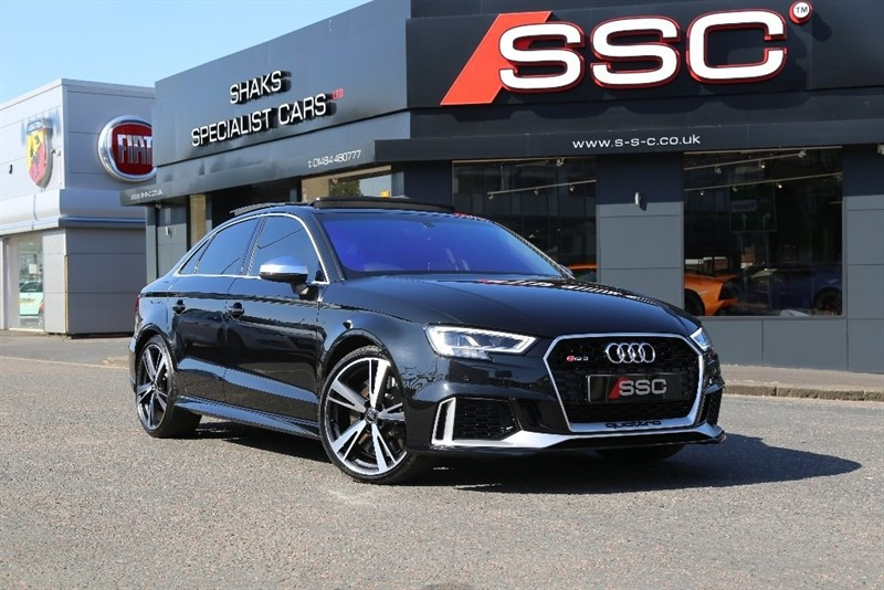 used Audi RS3 TFSI S Tronic Quattro 4dr in yorkshire