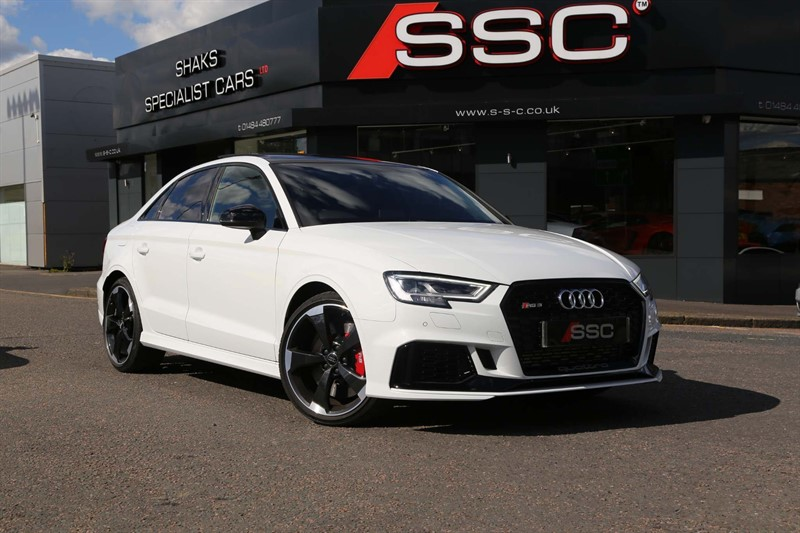 used Audi RS3 TFSI Audi Sport Edition S Tronic quattro (s/s) in huddersfield-west-yorkshire