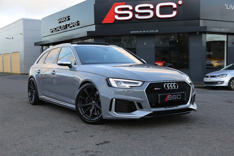 used Audi RS4 Avant TFSI Avant Tiptronic quattro 5dr in huddersfield-west-yorkshire