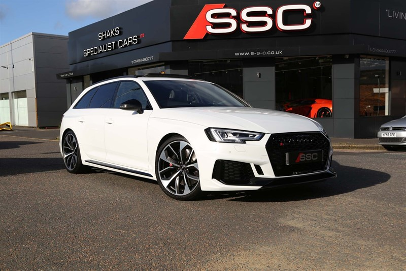 used Audi RS4 Avant TFSI V6 Sport Edition Avant Tiptronic quattro (s/s) 5dr in huddersfield-west-yorkshire
