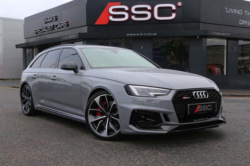 used Audi RS4 Avant TFSI V6 Avant Tiptronic quattro (s/s) in huddersfield-west-yorkshire