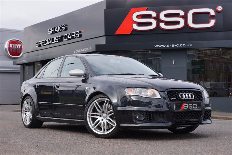used Audi RS4 Saloon Quattro 4dr in yorkshire