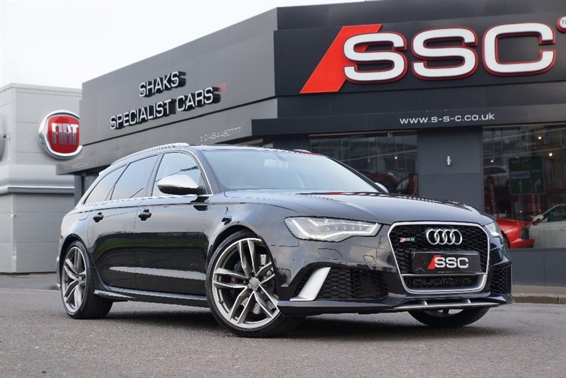 used Audi RS6 Avant TFSI Tiptronic Quattro 5dr in yorkshire
