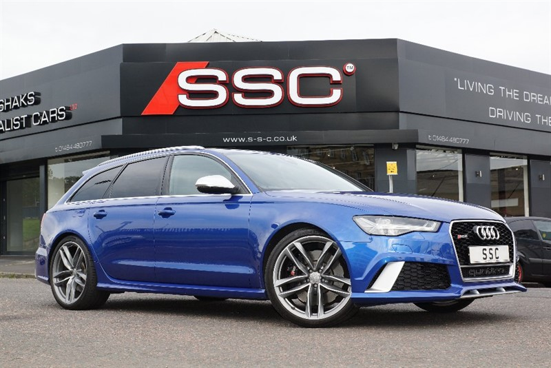 used Audi RS6 Avant TFSI Avant Tiptronic Quattro 5dr in yorkshire