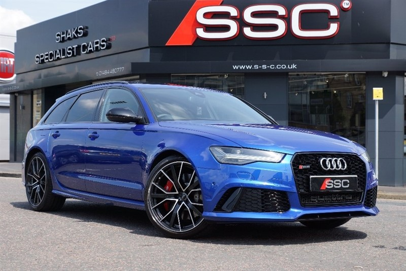 used Audi RS6 Avant Performance Avant Tiptronic Quattro 5dr in huddersfield-west-yorkshire