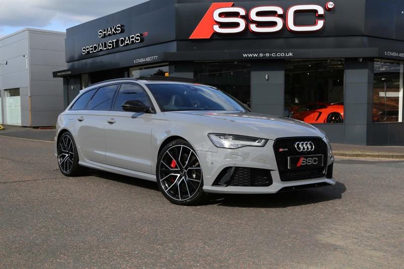 used Audi RS6 Avant TFSI V8 Performance Avant Tiptronic quattro (s/s) 5dr in huddersfield-west-yorkshire