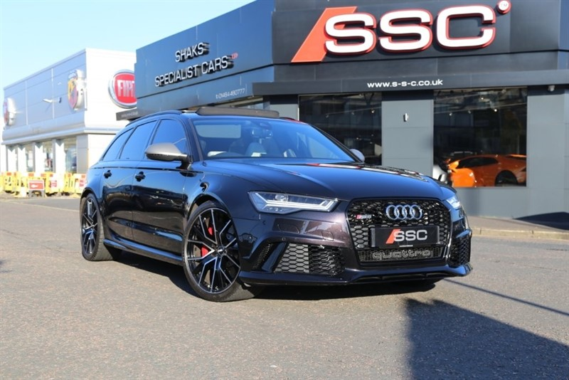 used Audi RS6 Avant TFSI Performance Avant Tiptronic Quattro 5dr in huddersfield-west-yorkshire