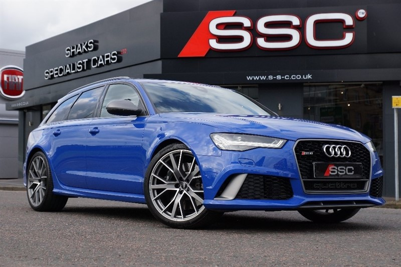 used Audi RS6 Avant Performance Avant Tiptronic quattro 5dr in yorkshire