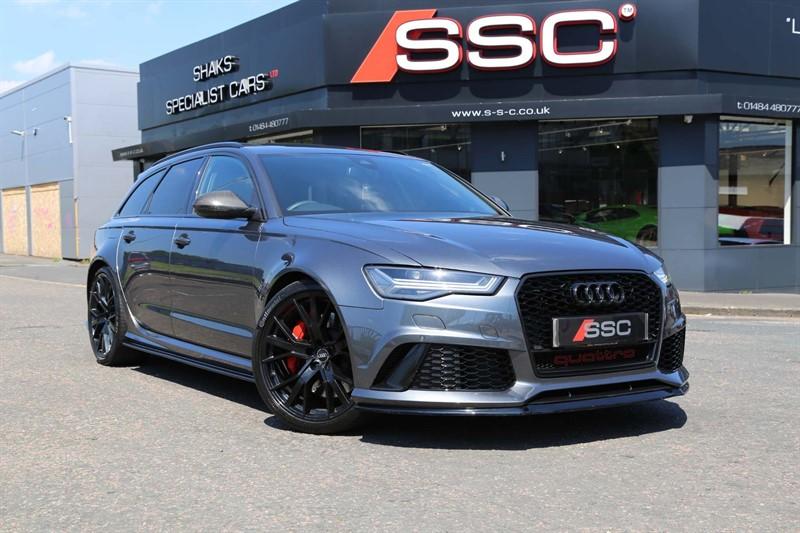used Audi RS6 Avant TFSI V8 Performance Avant Tiptronic quattro (s/s) in huddersfield-west-yorkshire