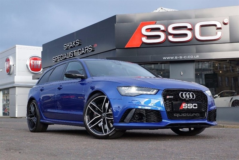 used Audi RS6 Avant 4.0 TFSI Avant Tiptronic Quattro 5dr in yorkshire