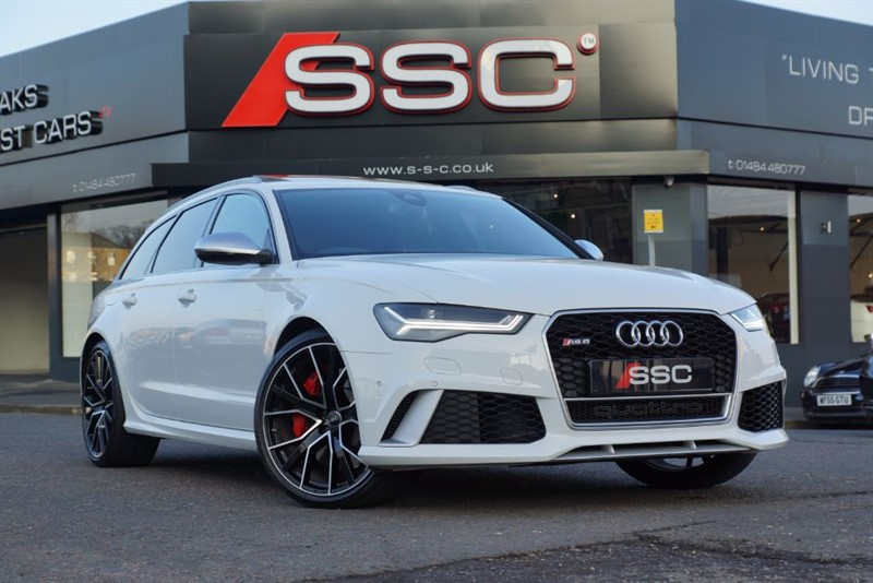 used Audi RS6 Avant Performance 4.0 Tiptronic Quattro 5dr in yorkshire