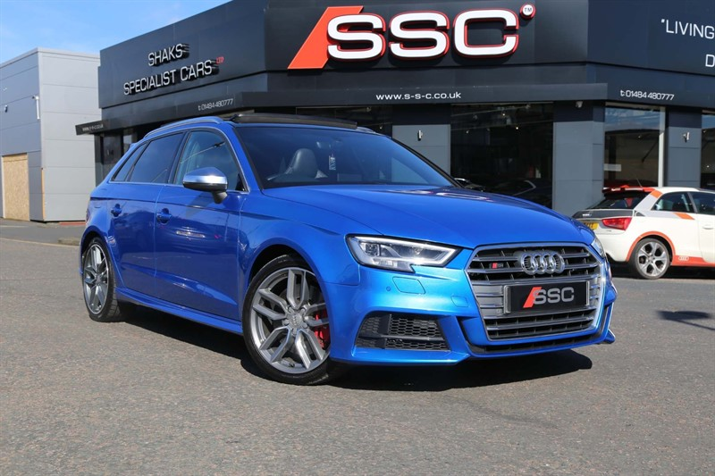 used Audi S3 TFSI Sportback S Tronic quattro (s/s) in huddersfield-west-yorkshire