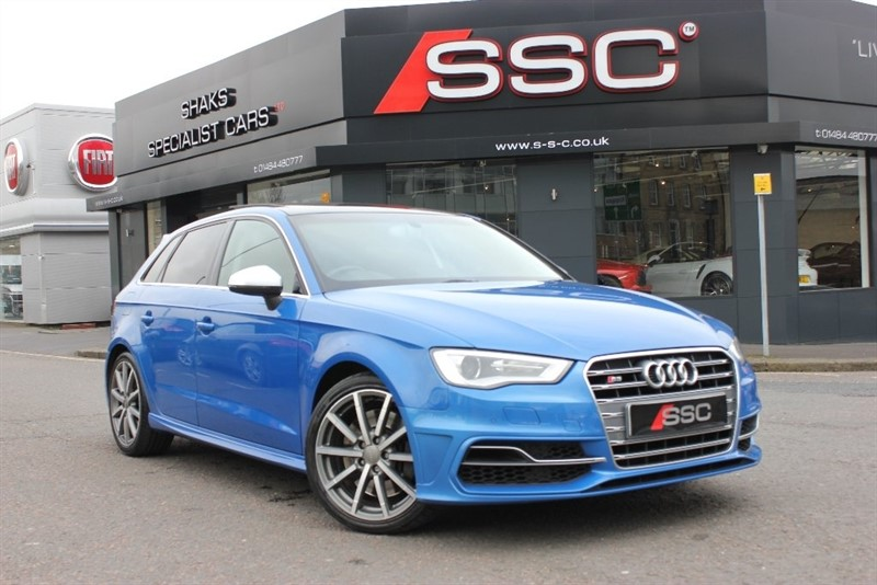 used Audi S3 TFSI Sportback S Tronic Quattro 5dr in yorkshire
