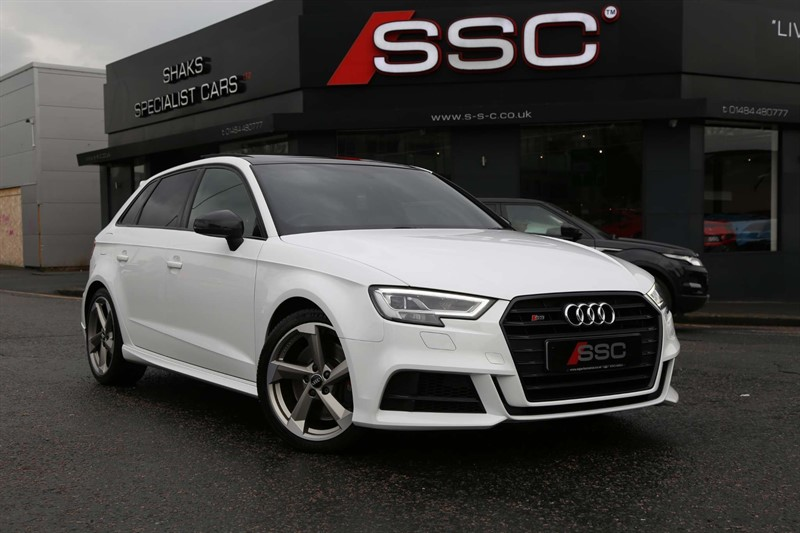 used Audi S3 TFSI Black Edition Sportback S Tronic quattro (s/s) in huddersfield-west-yorkshire